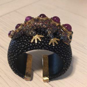 Jewelry - Stingray leather cuff